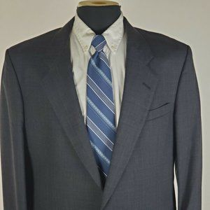 Jos A Bank Executive 42 L Long 2 Button Wool